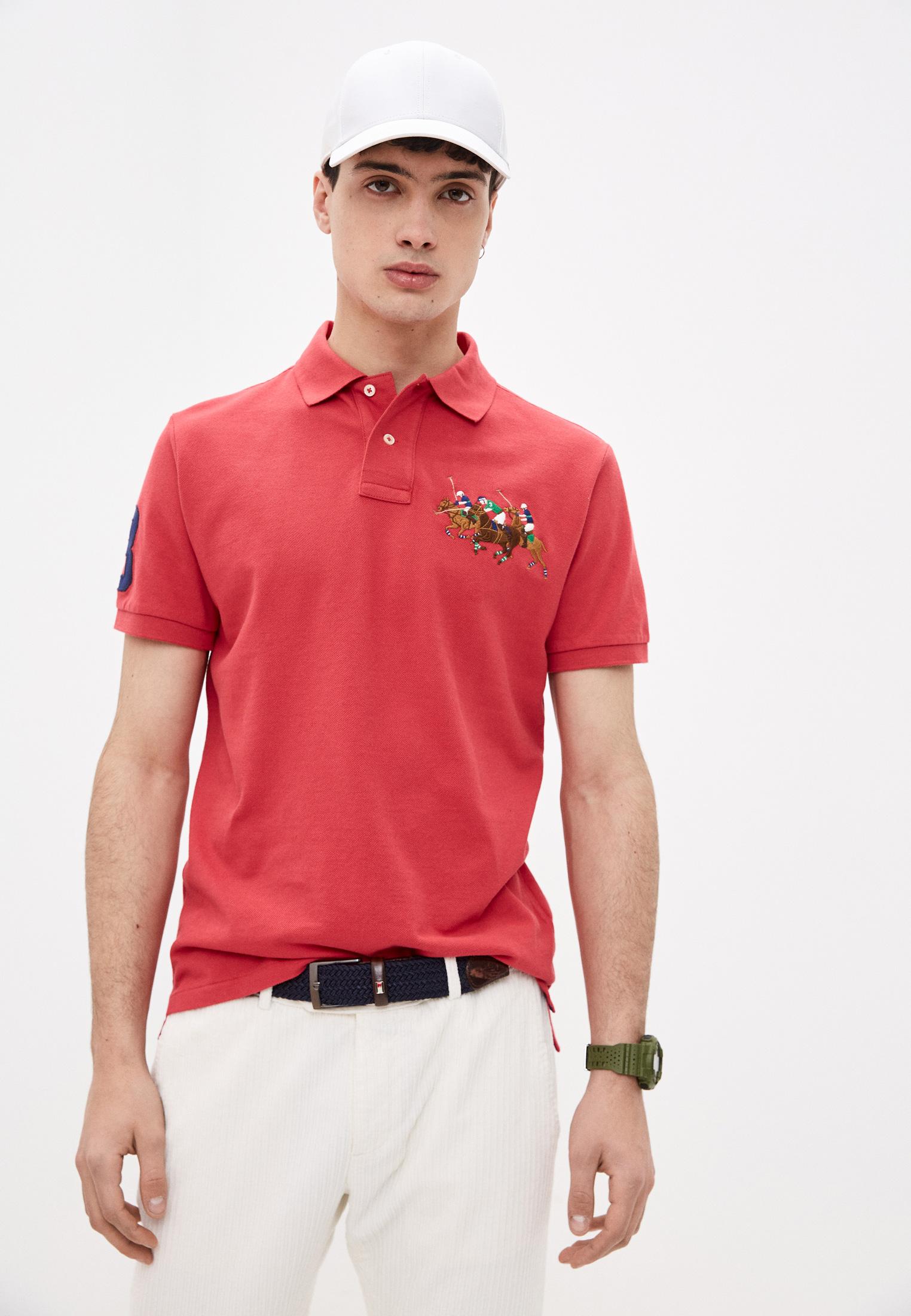 Мужские поло Polo Ralph Lauren (Поло Ральф Лорен) 710814437009