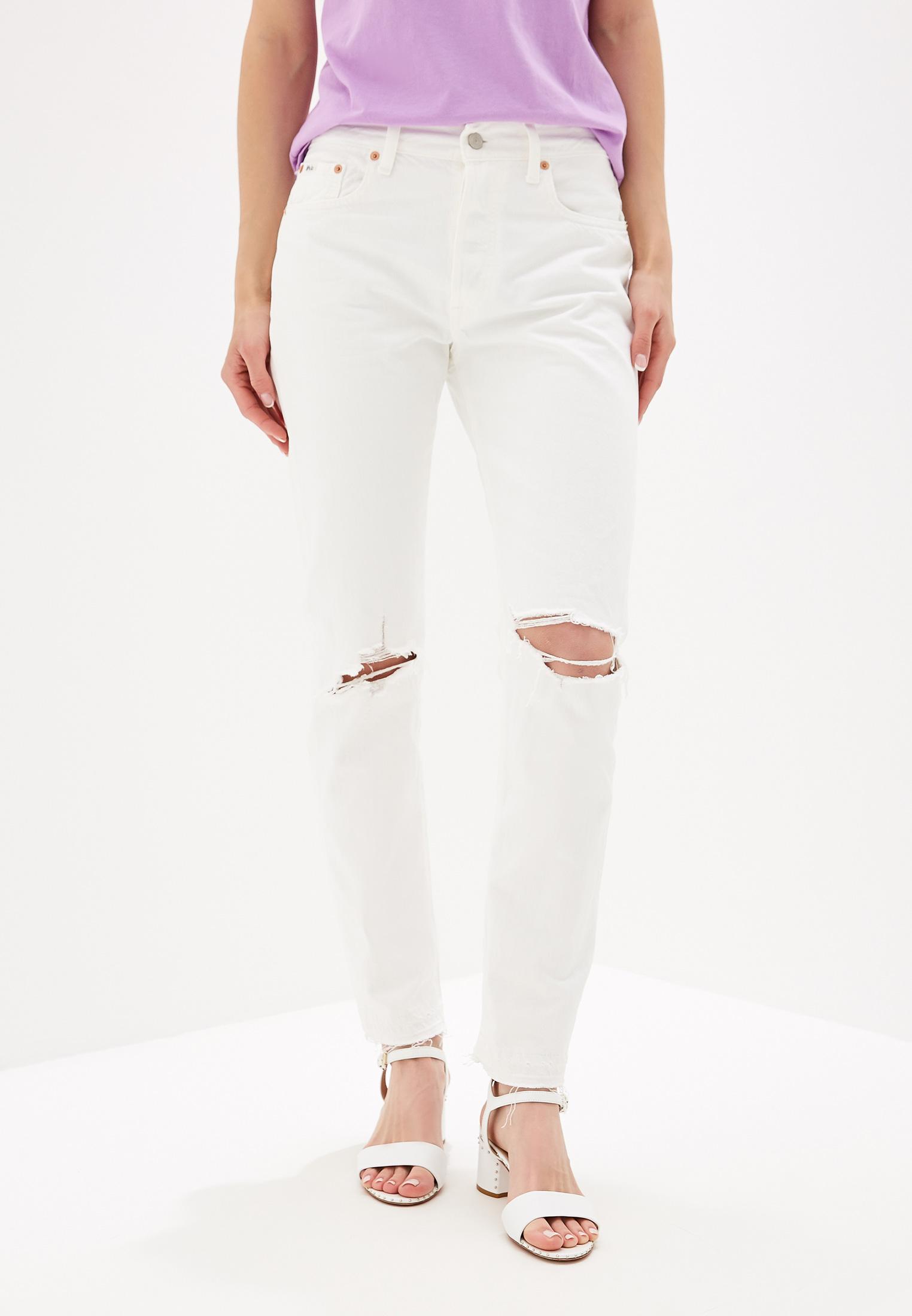 Прямые джинсы Polo Ralph Lauren (Поло Ральф Лорен) 211742334001