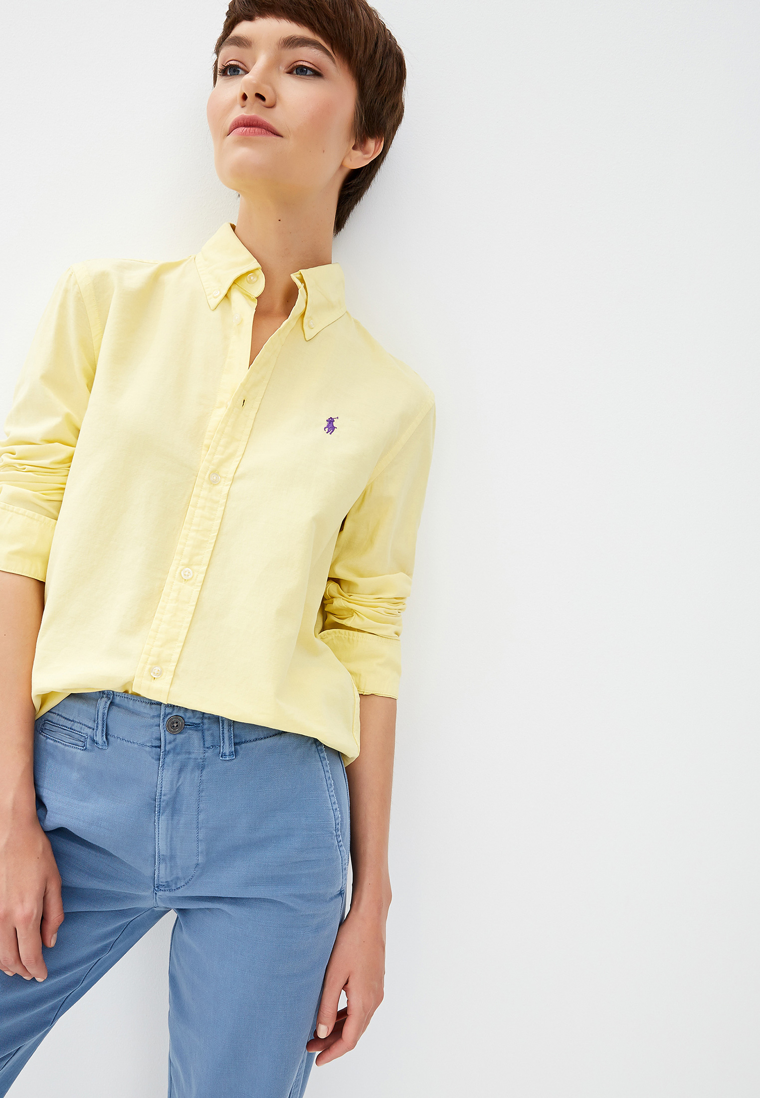 Женские рубашки с длинным рукавом Polo Ralph Lauren (Поло Ральф Лорен) 211732598006