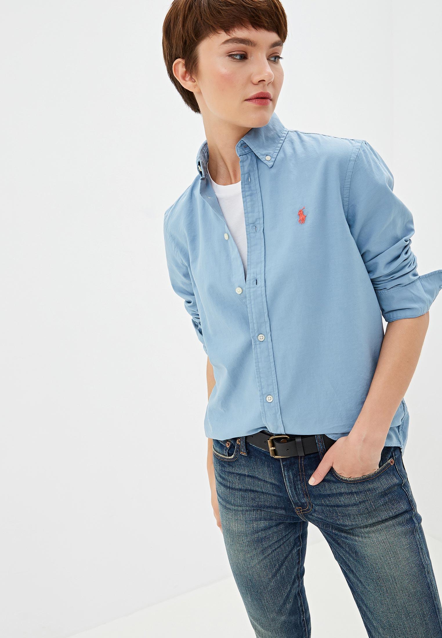Женские рубашки с длинным рукавом Polo Ralph Lauren (Поло Ральф Лорен) 211732598008