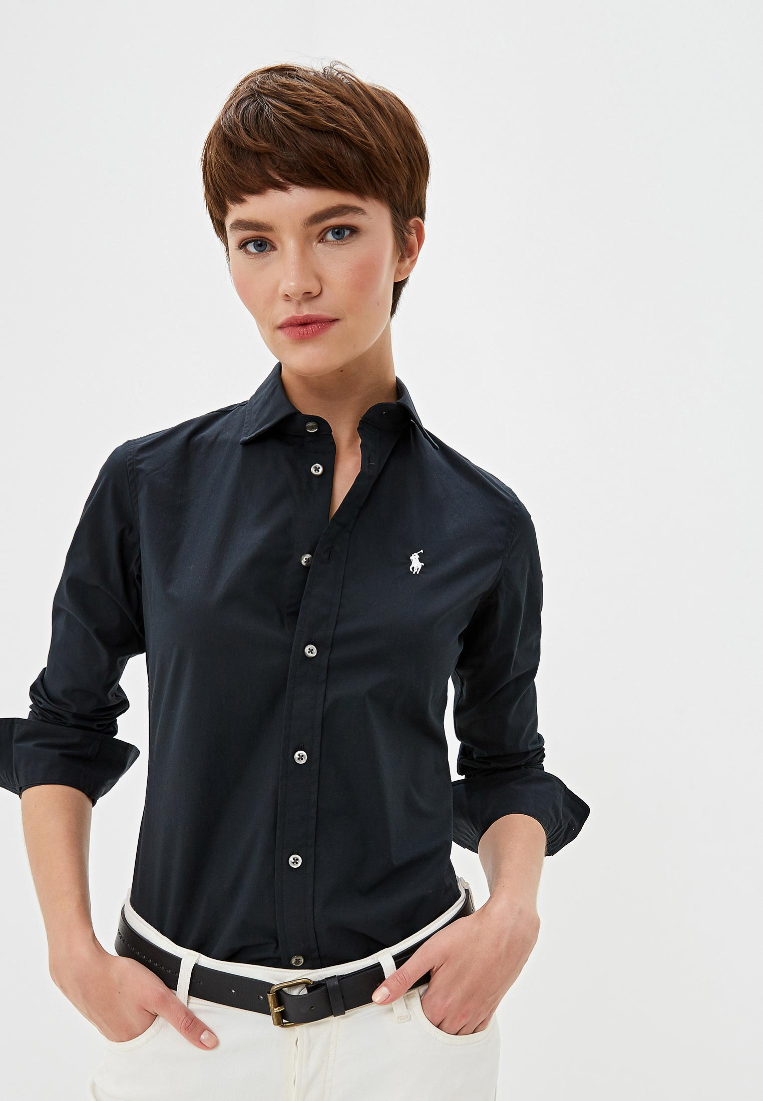Женские рубашки с длинным рукавом Polo Ralph Lauren (Поло Ральф Лорен) 211537103008