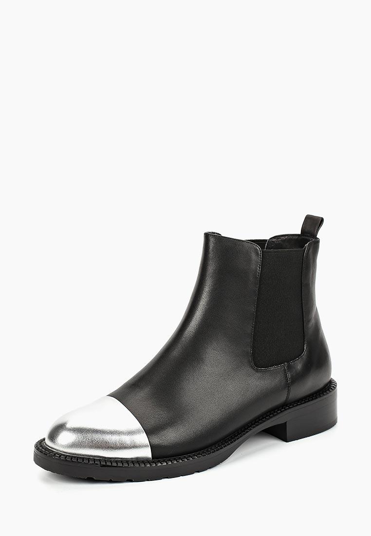 Женские ботинки Portal PRL1708-24 black/silv-18Z