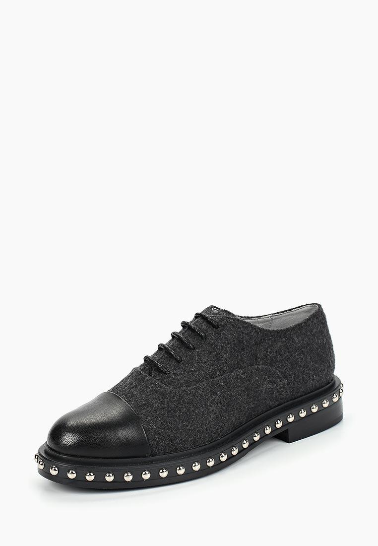 Женские ботинки Portal PRL1144-01 grey/black-18Z