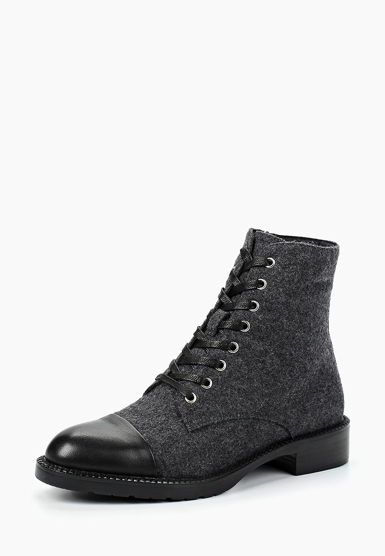 Женские ботинки Portal PRL1708-25 grey/black-18Z