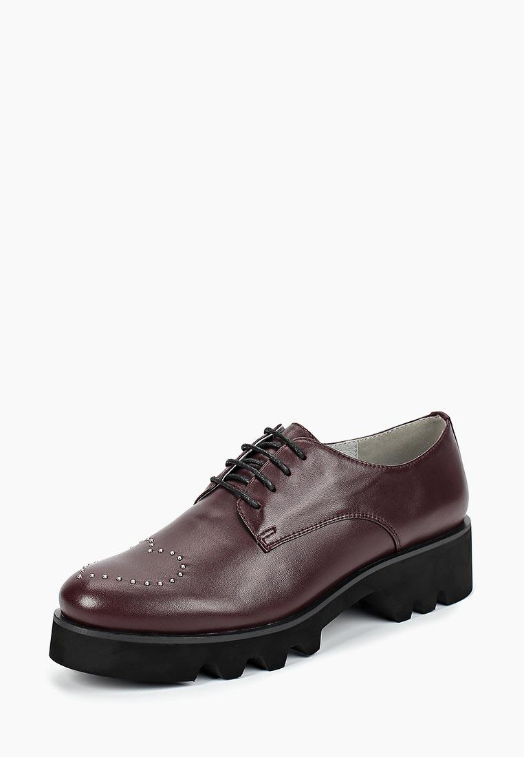 Женские ботинки Portal PRL1280-04 bordeaux-18Z