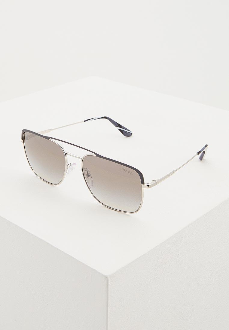 Мужские солнцезащитные очки Prada (Прада) 0PR 53VS