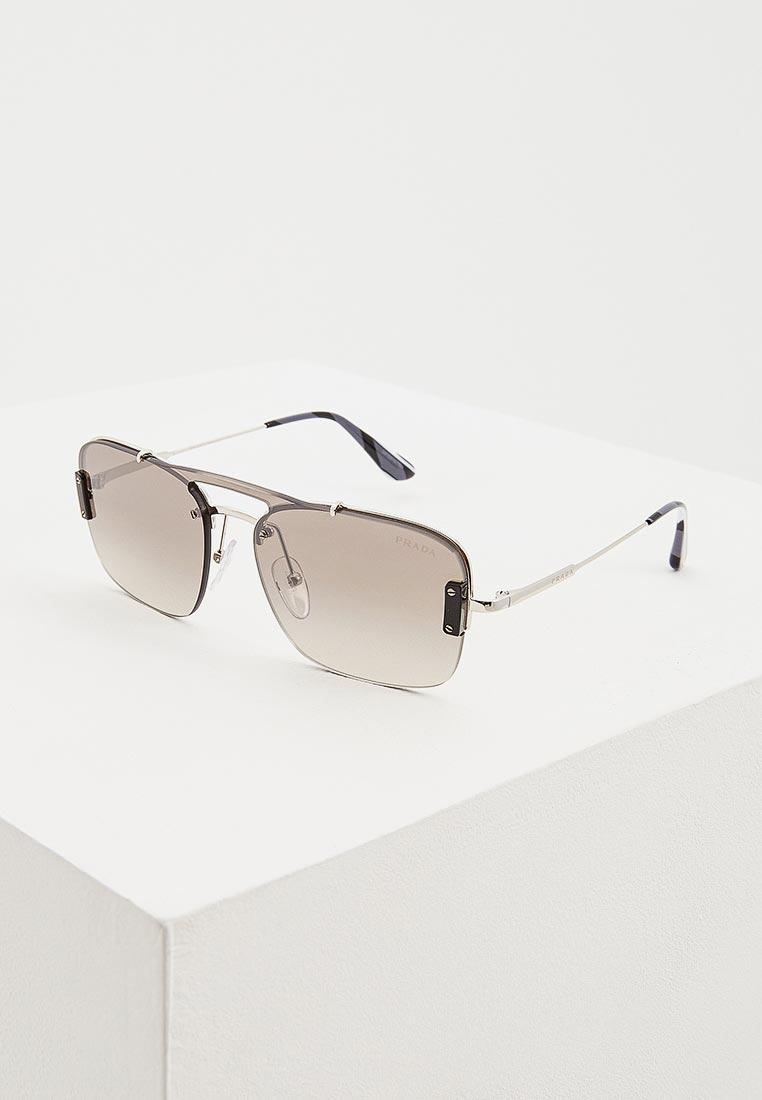 Мужские солнцезащитные очки Prada (Прада) 0PR 56VS