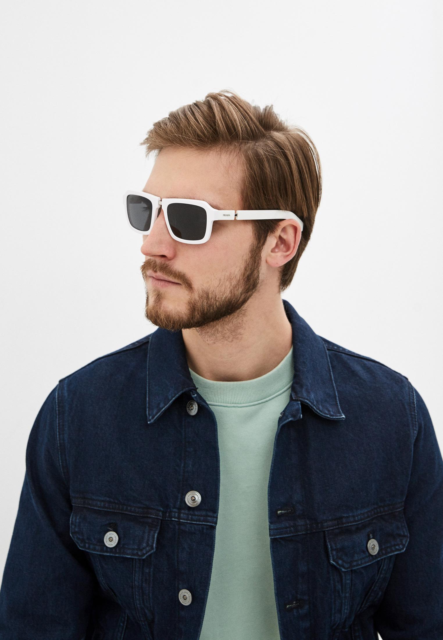 Мужские солнцезащитные очки Prada (Прада) 0PR 09XS: изображение 6