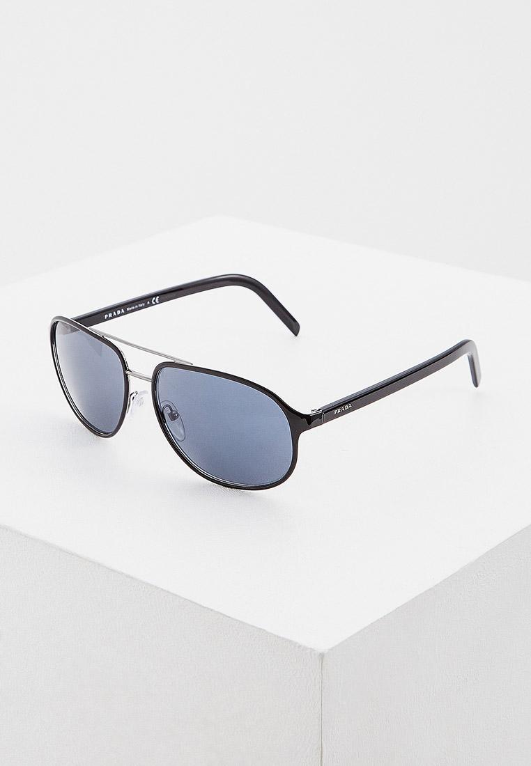 Мужские солнцезащитные очки Prada (Прада) 0PR 53XS