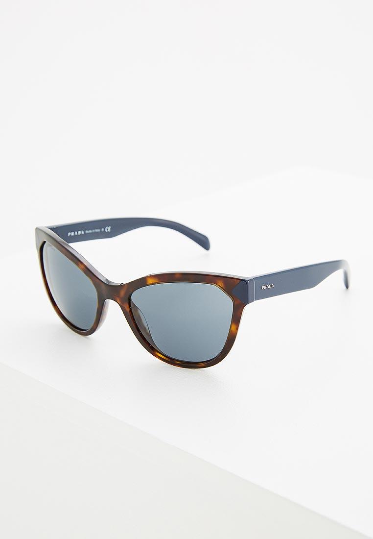 Женские солнцезащитные очки Prada (Прада) 0PR 21SS