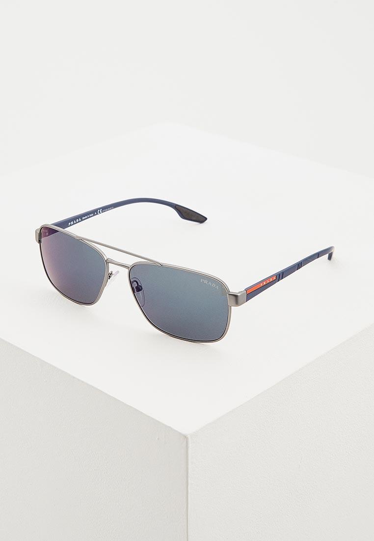 Мужские солнцезащитные очки Prada Linea Rossa 0PS 51US