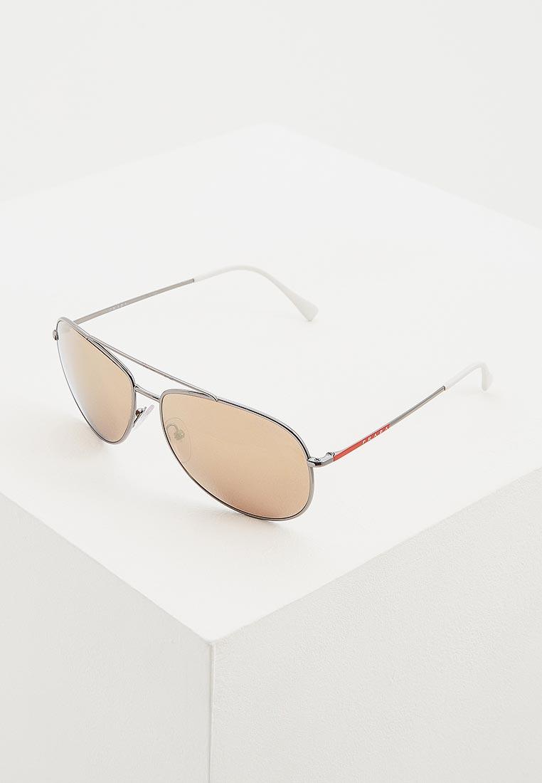 Мужские солнцезащитные очки Prada Linea Rossa 0PS 55US