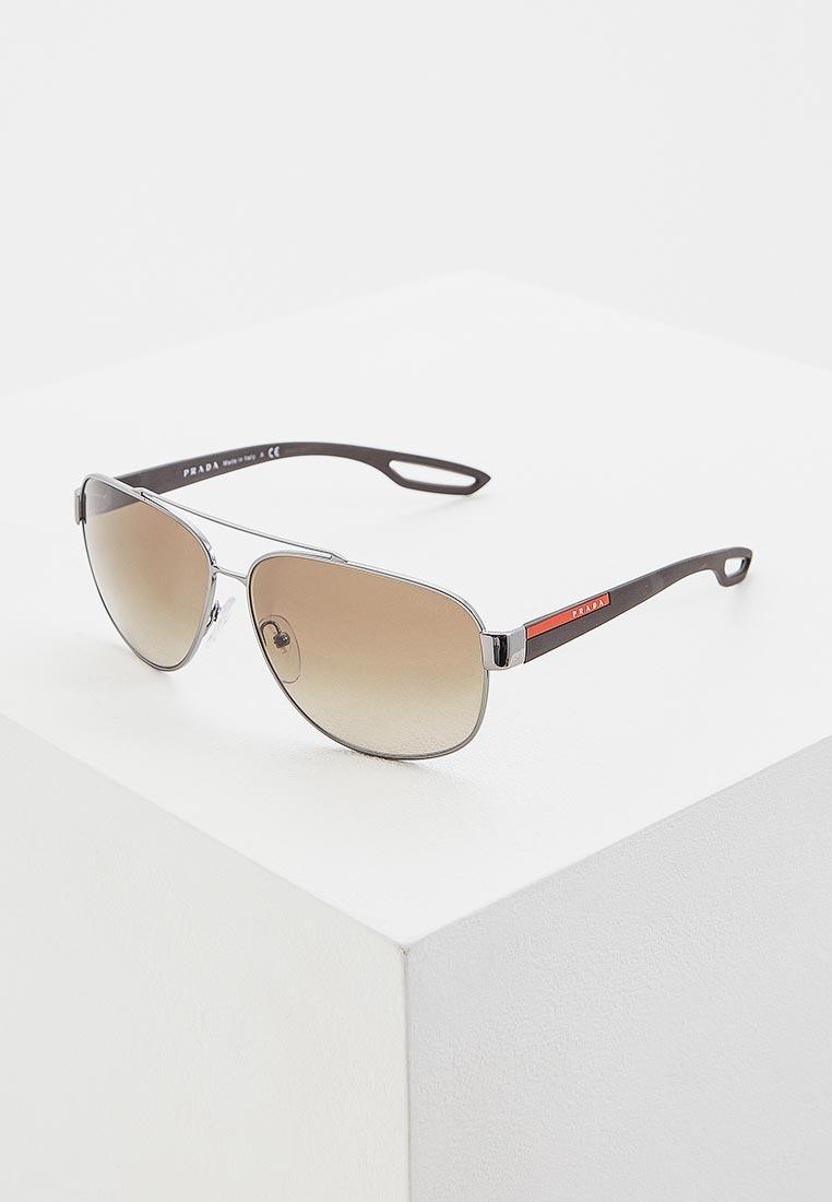 Мужские солнцезащитные очки Prada Linea Rossa 0PS 58QS