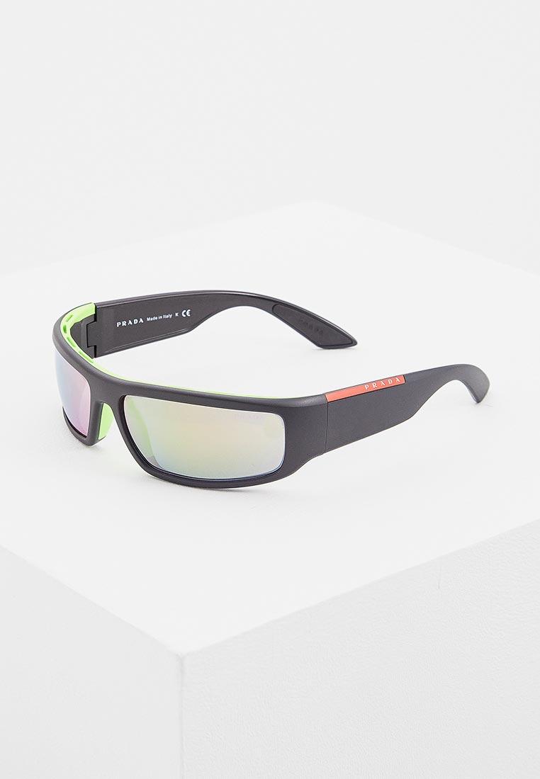 Мужские солнцезащитные очки Prada Linea Rossa 0PS 02US