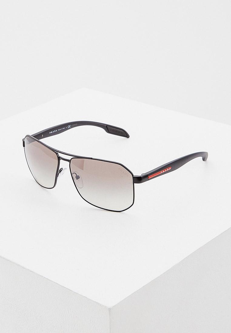 Мужские солнцезащитные очки Prada Linea Rossa 0PS 51VS