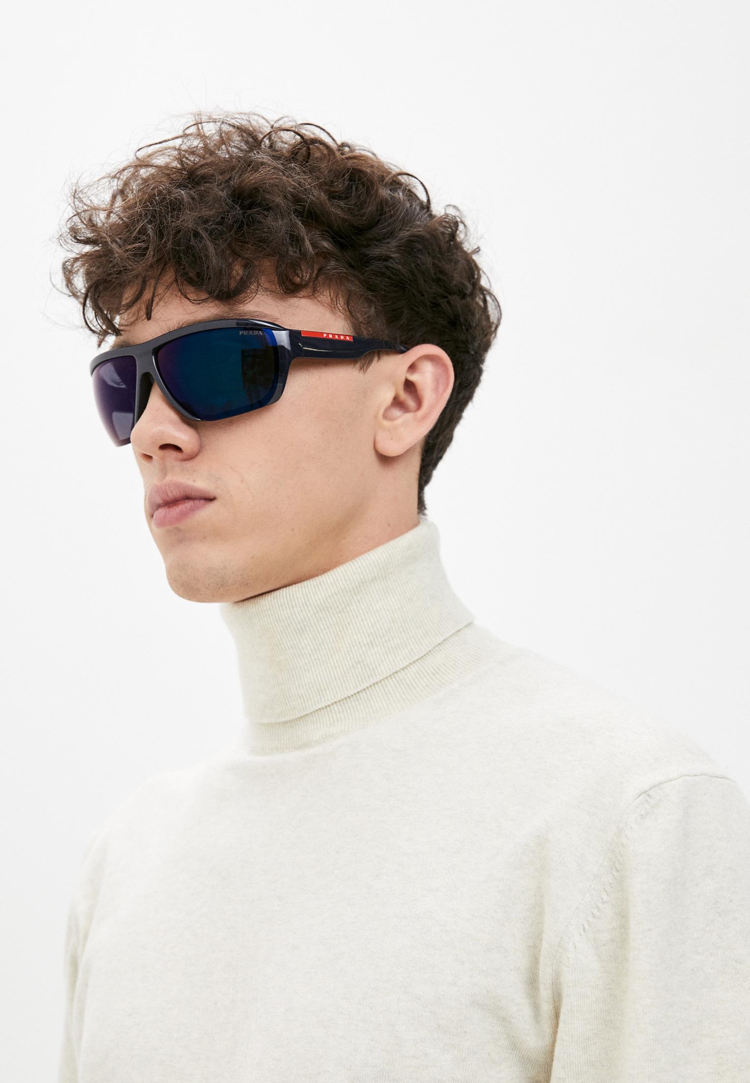 Мужские солнцезащитные очки Prada Linea Rossa 0PS 09VS