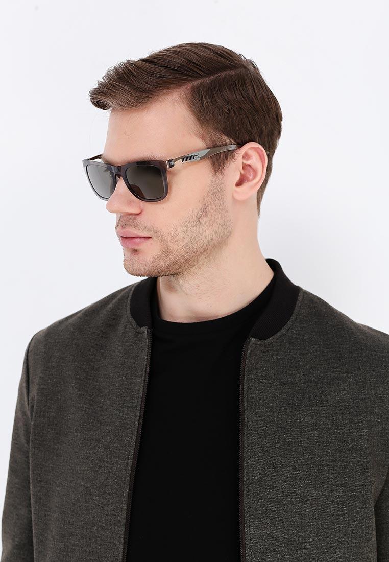 Мужские солнцезащитные очки Puma (Пума) PU0016S: изображение 3