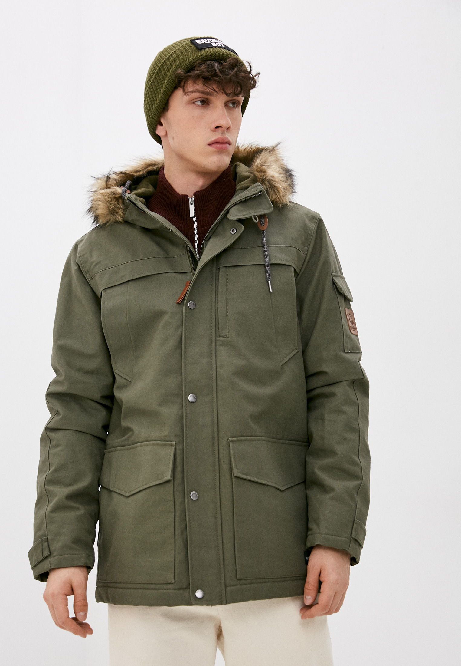 Утепленная куртка Quiksilver (Квиксильвер) Куртка утепленная Quiksilver