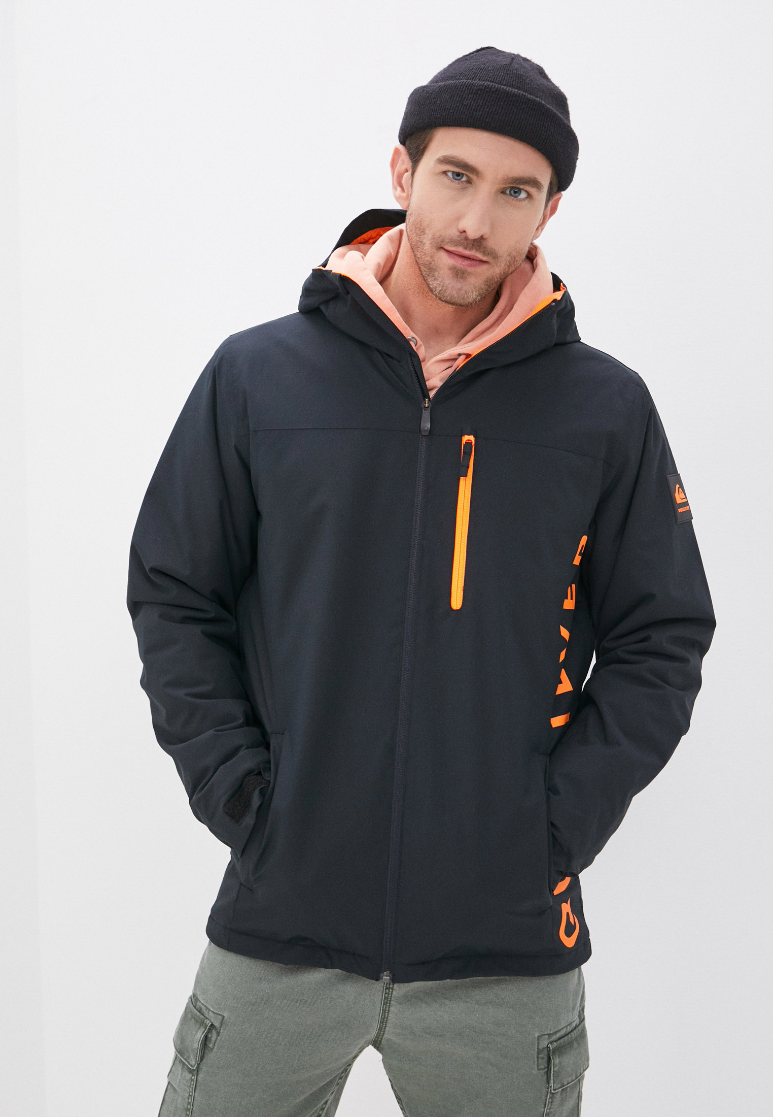 Мужские спортивные куртки Quiksilver (Квиксильвер) EQYTJ03276