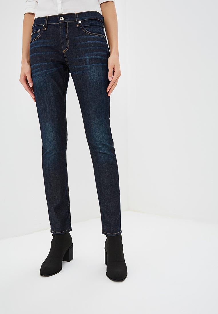 Зауженные джинсы Rag & Bone W1590K510BEV