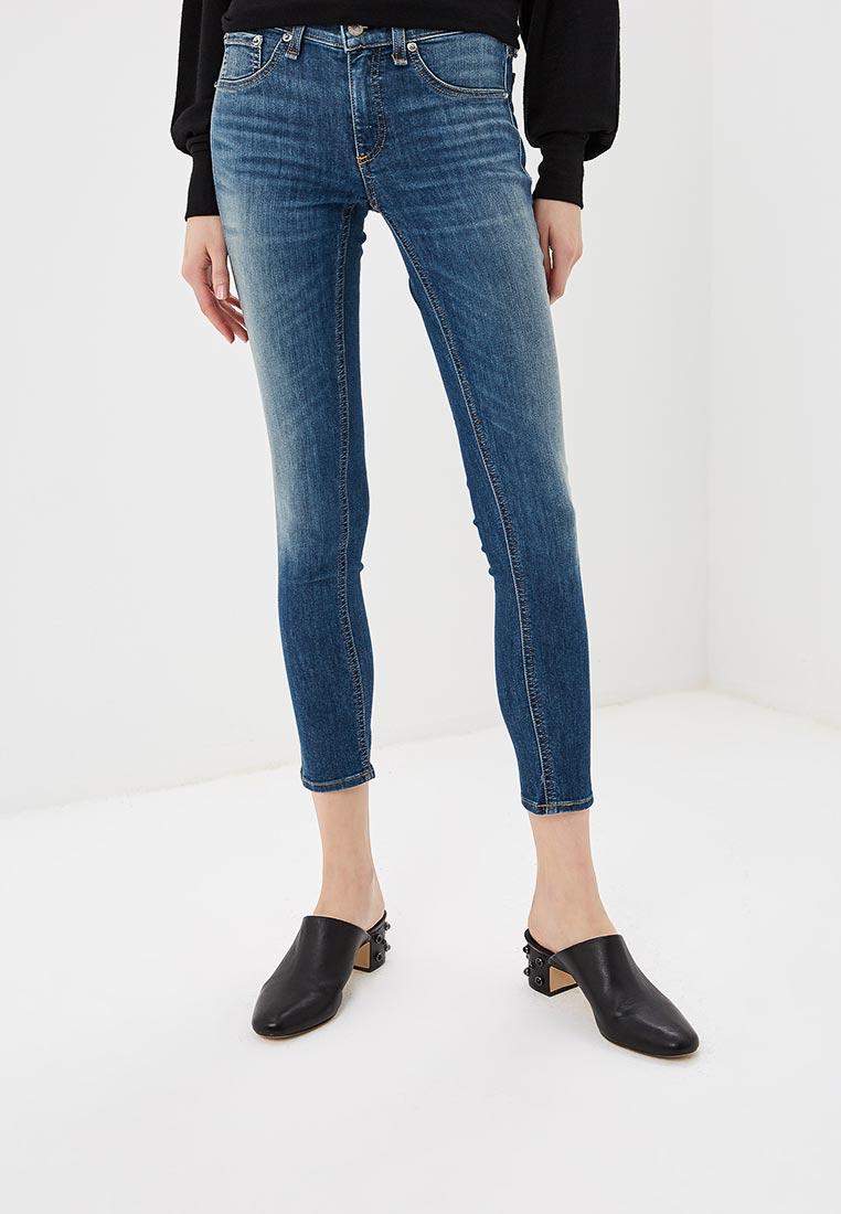 Зауженные джинсы Rag & Bone W1526K122RAE