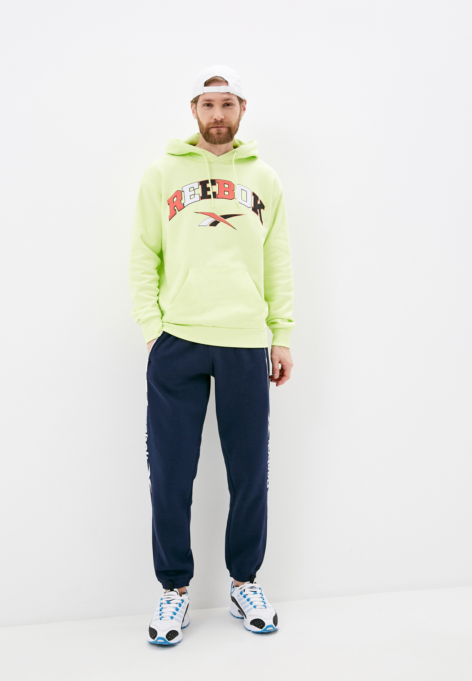 Мужские спортивные брюки Reebok Classic GL1653: изображение 2