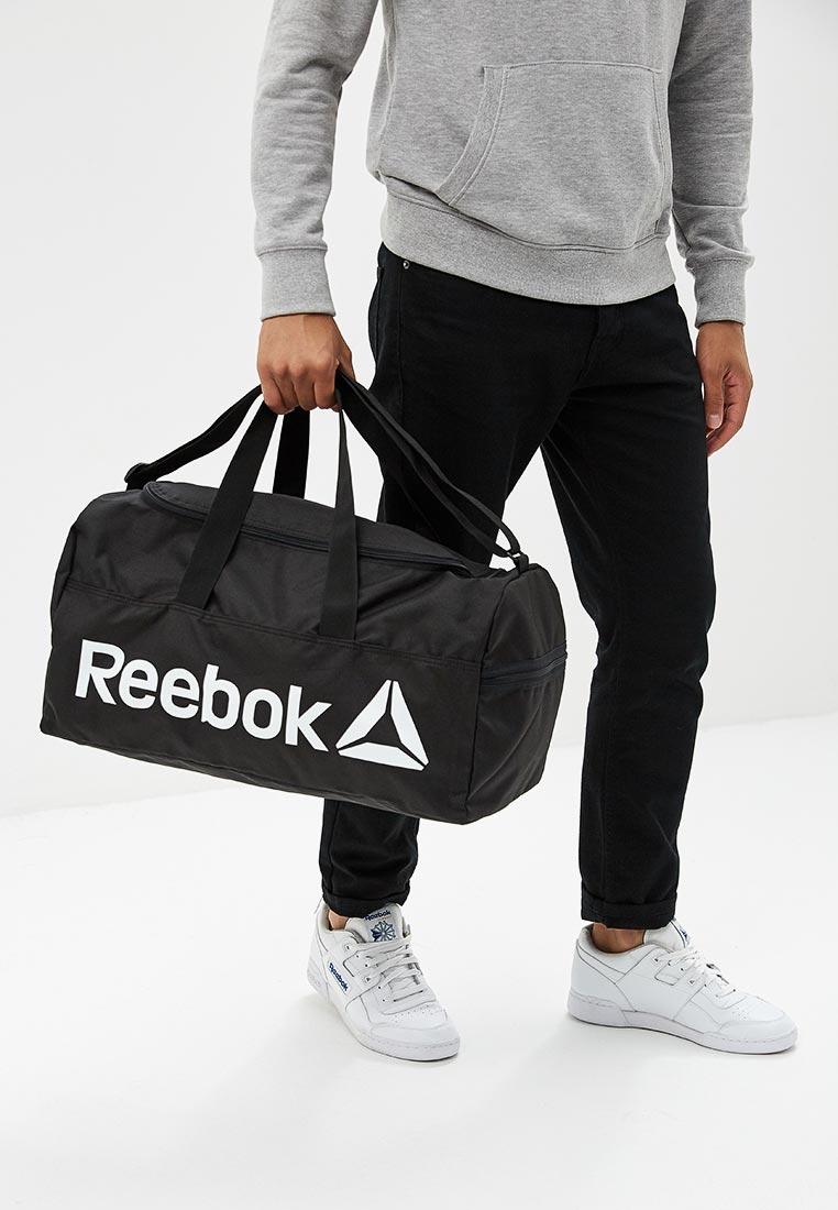 1ac59bd54975 Спортивная сумка мужская Reebok (Рибок) DN1521 купить за 2390 руб.