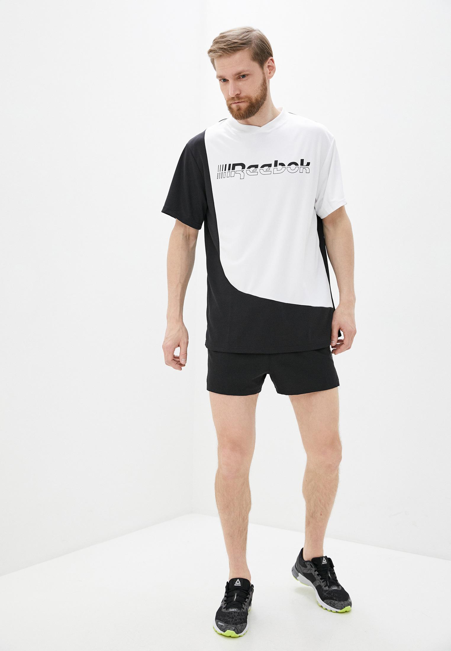 Спортивная футболка Reebok (Рибок) FJ4673: изображение 2