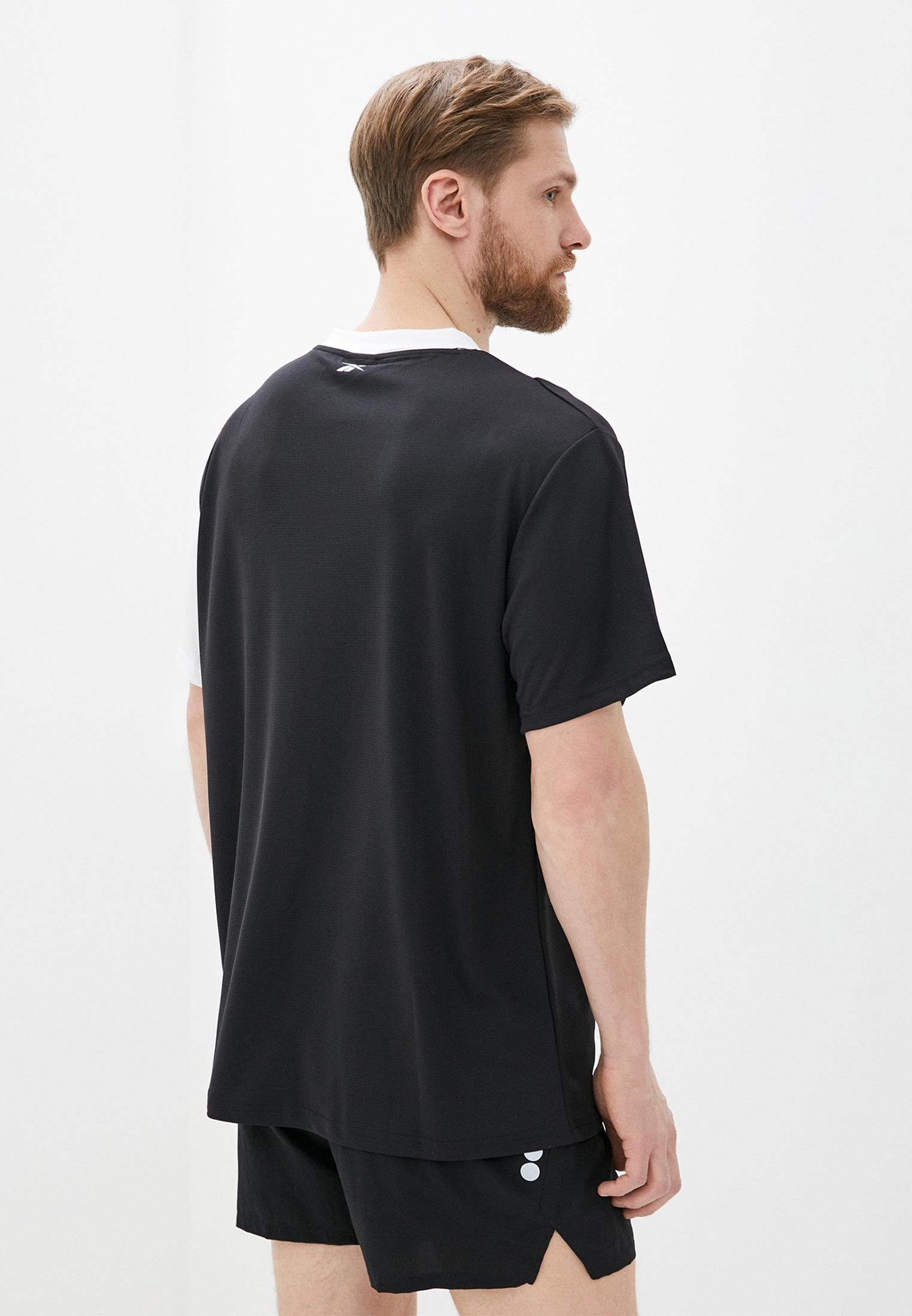 Спортивная футболка Reebok (Рибок) FJ4673: изображение 3