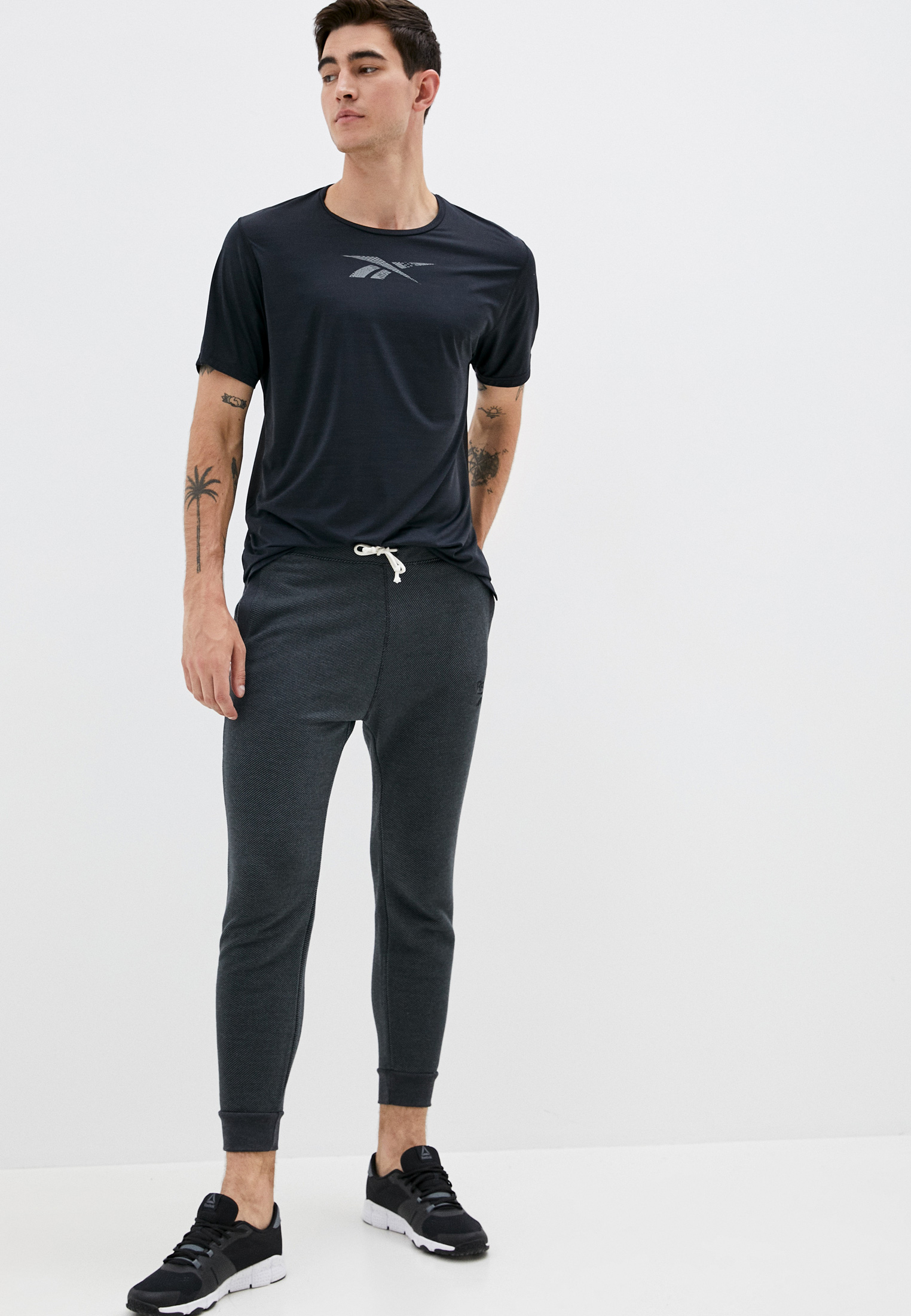 Мужские спортивные брюки Reebok (Рибок) FU3235: изображение 2
