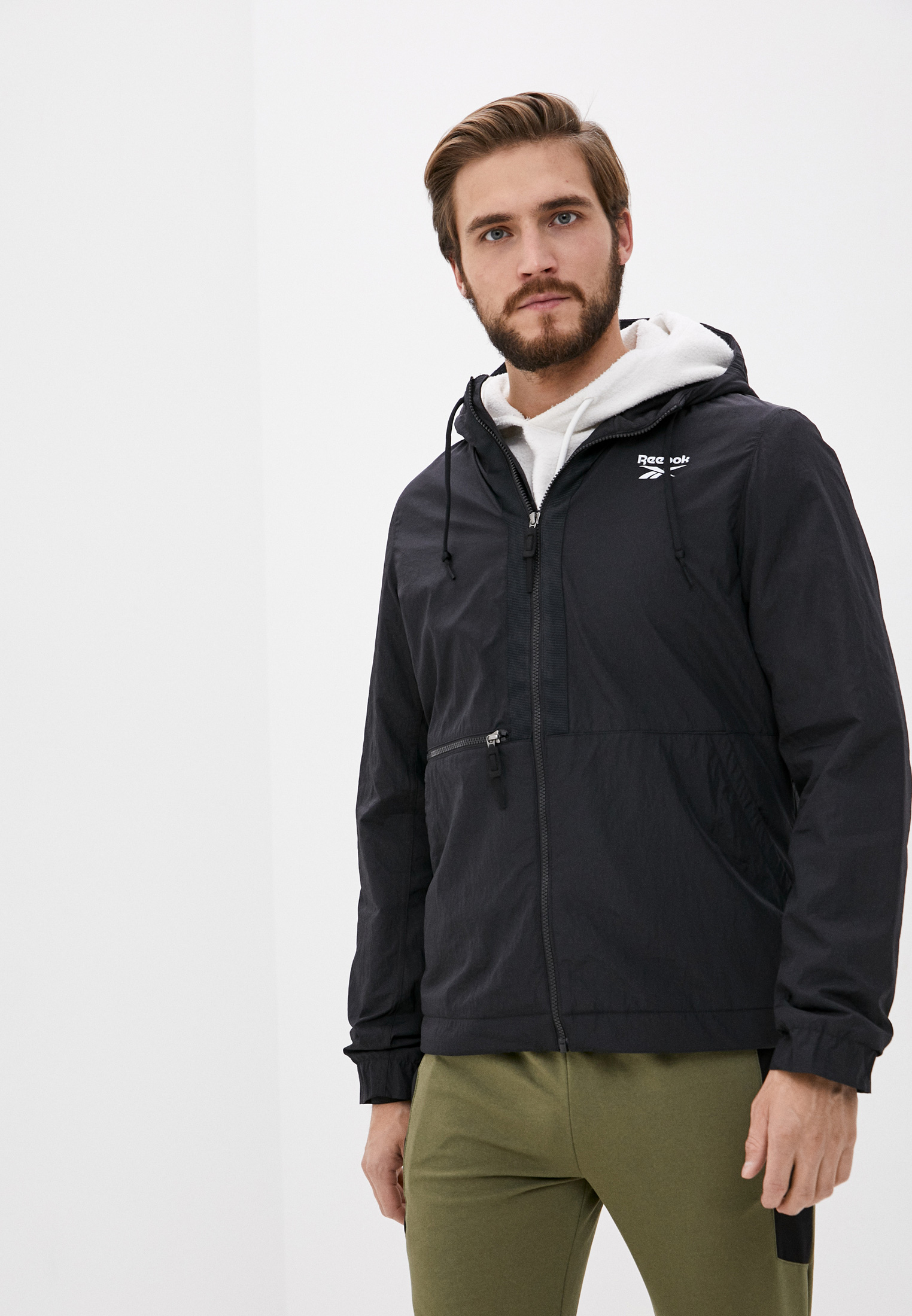 Мужская верхняя одежда Reebok (Рибок) FT0650