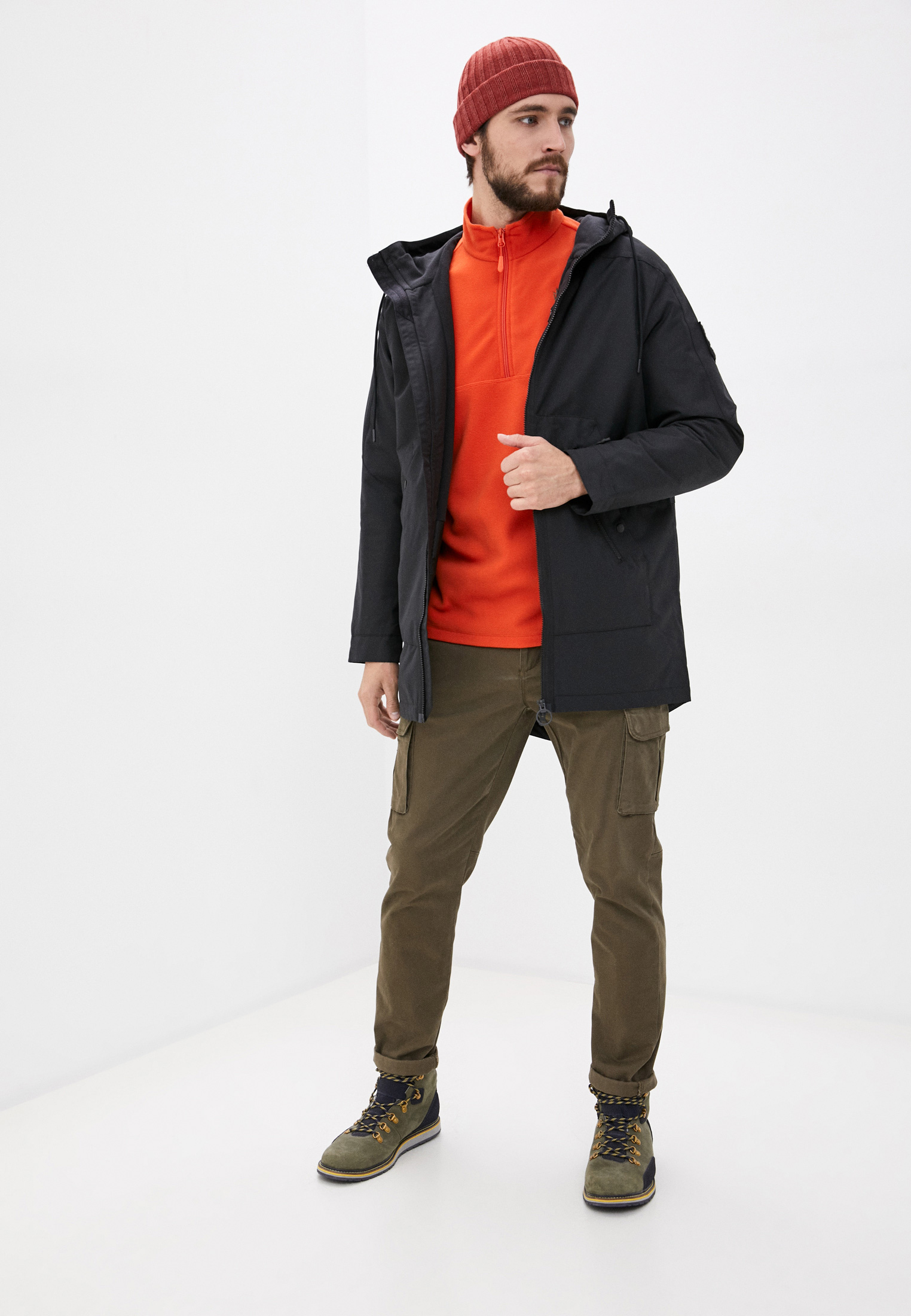 Мужская верхняя одежда Reebok (Рибок) FT0684: изображение 2