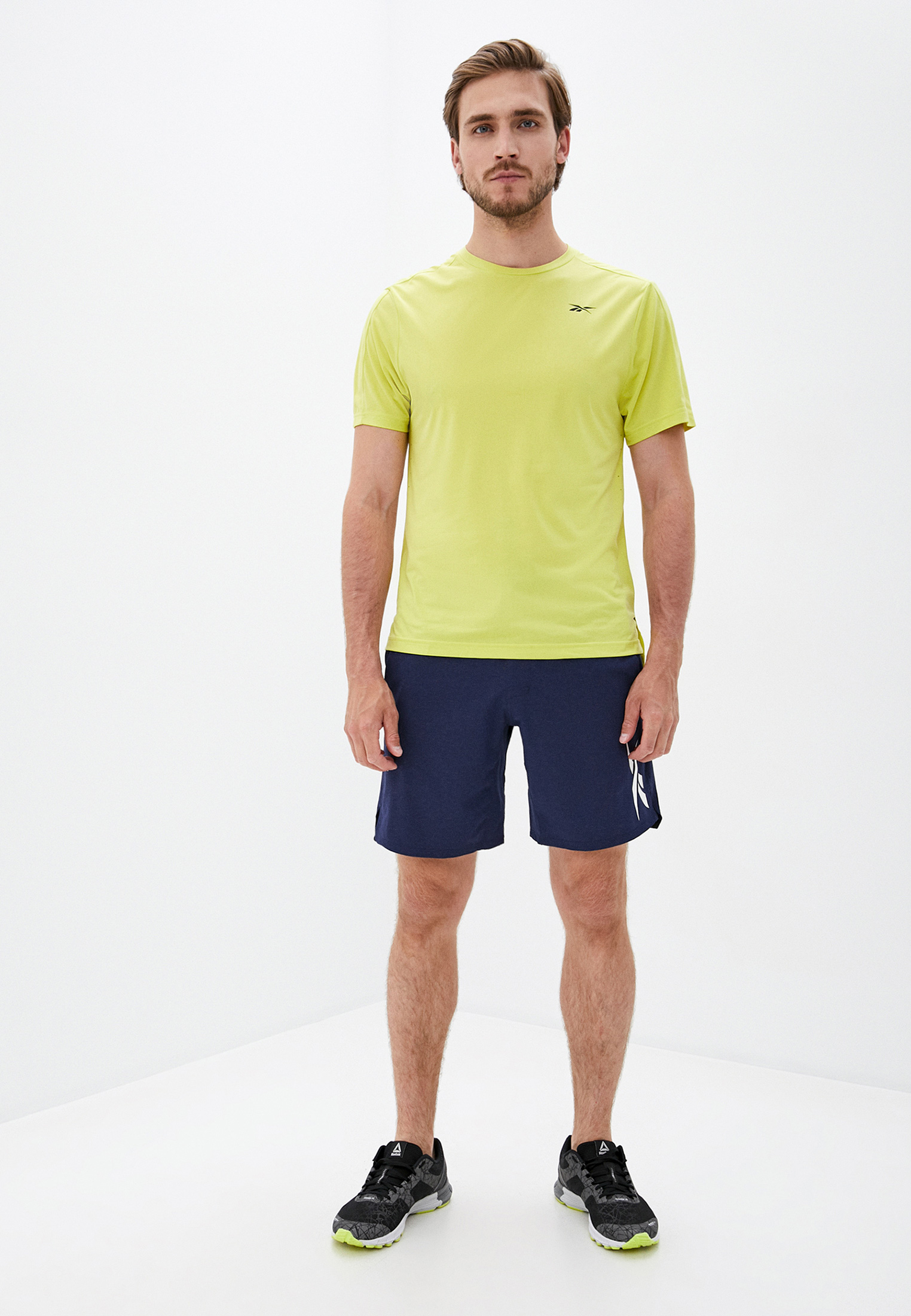 Мужские спортивные шорты Reebok (Рибок) FU2843: изображение 2