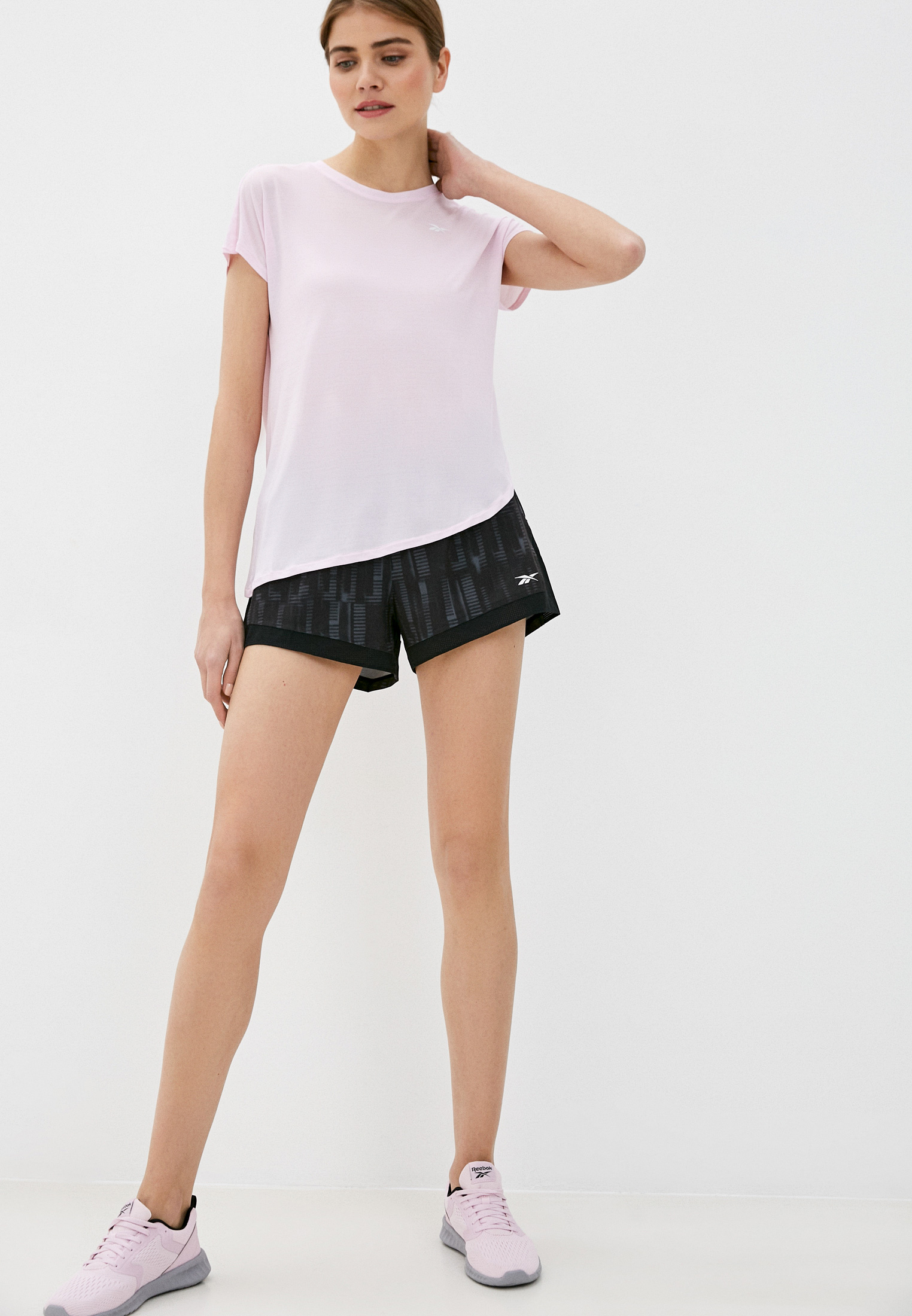 Женские повседневные шорты Reebok (Рибок) FM7166: изображение 3