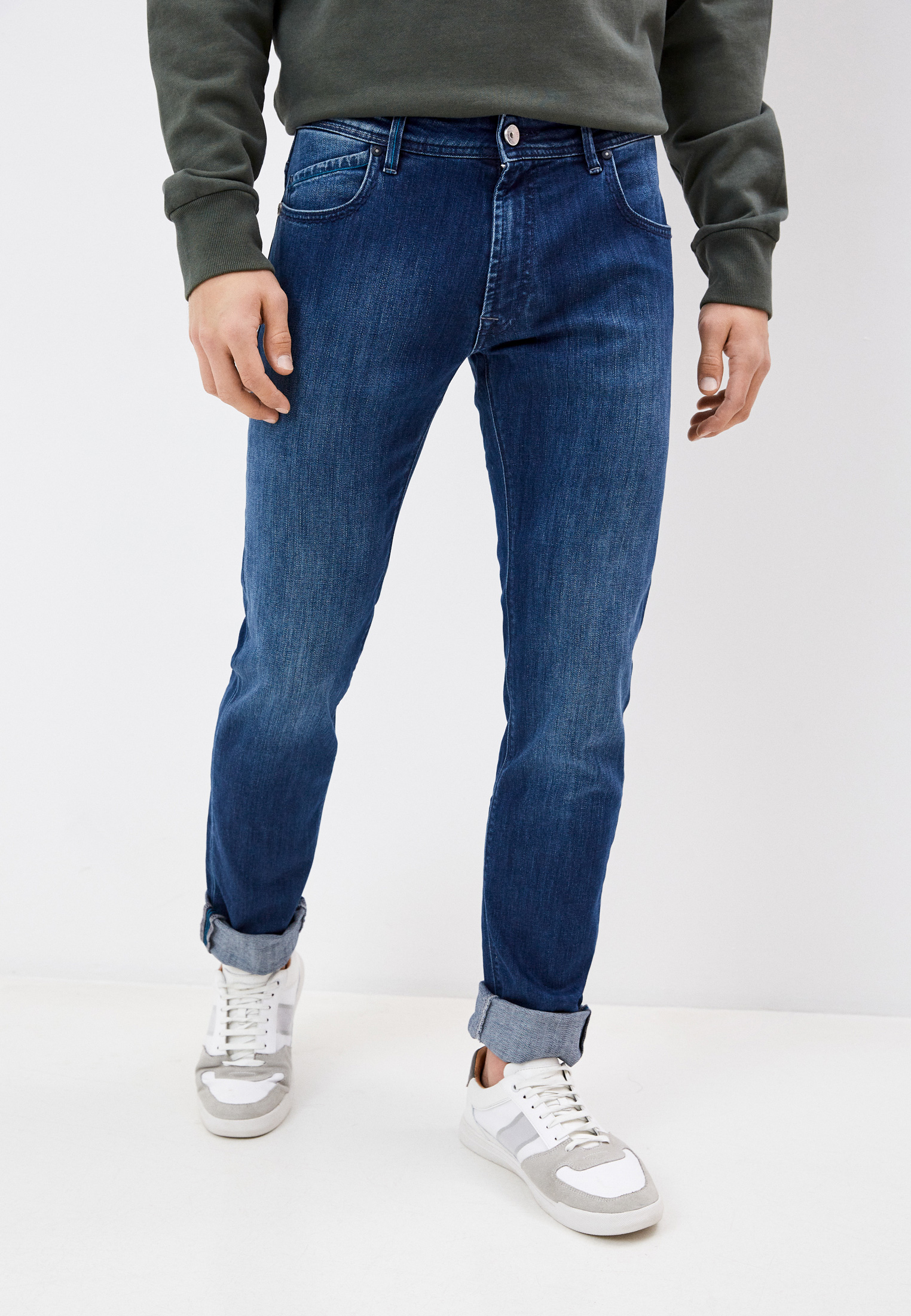 Зауженные джинсы Re-Hash P400 2644