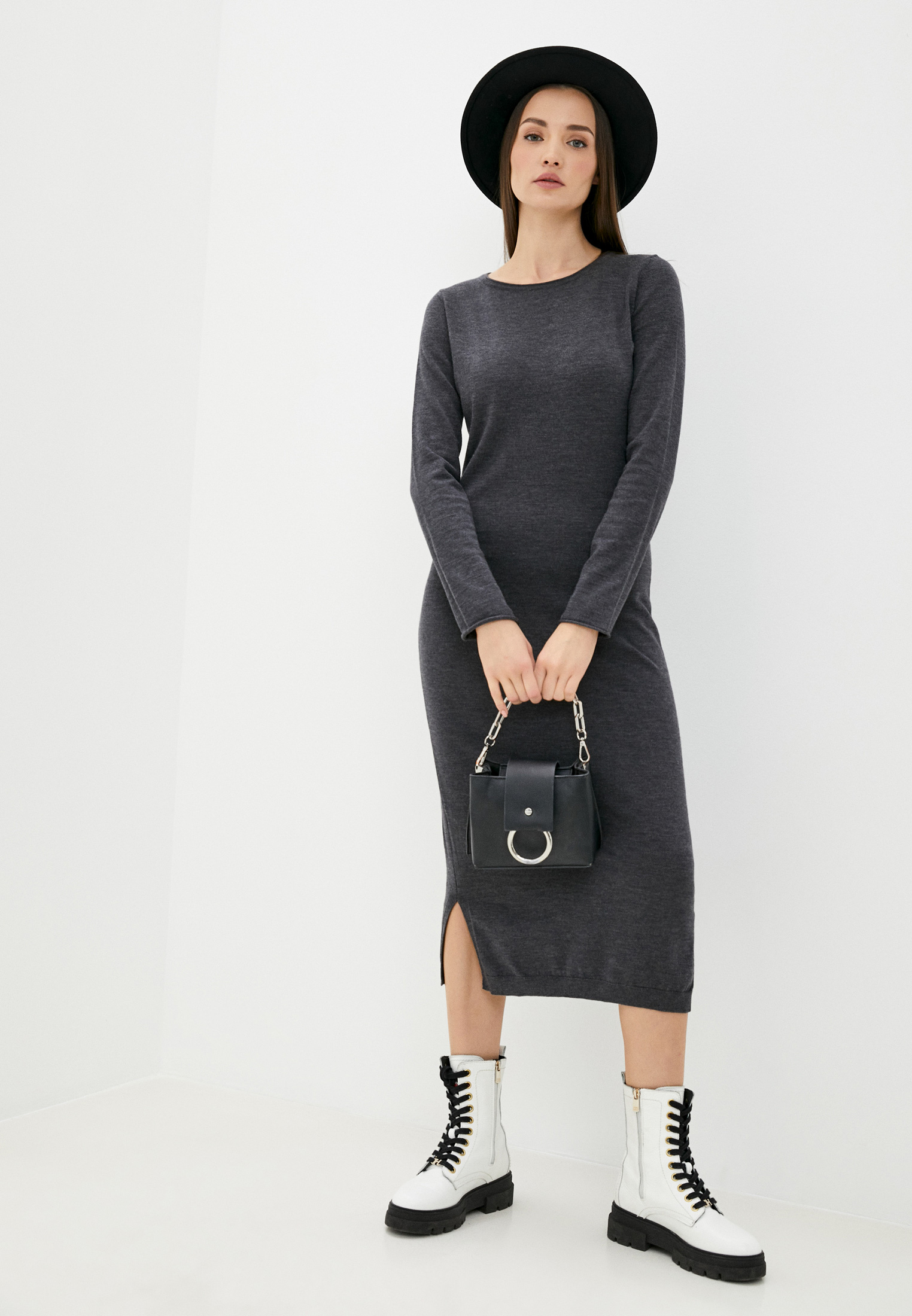 Вязаное платье Replay (Реплей) DK7089.000.G22734