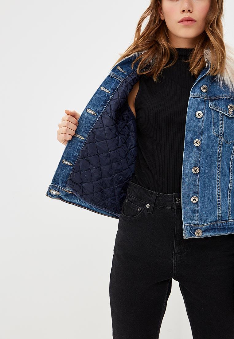 83158c55508f Джинсовая куртка женская Rinascimento CFC0087664003 цвет синий ...