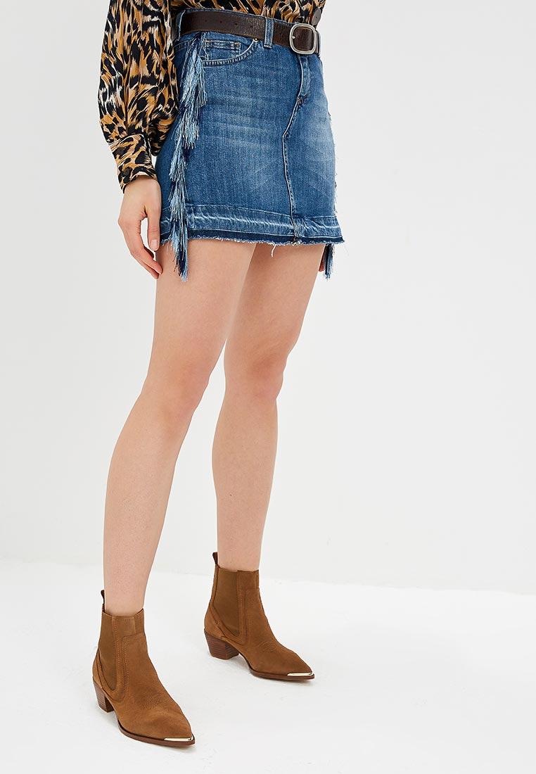 Джинсовая юбка Rinascimento CFC0090955003