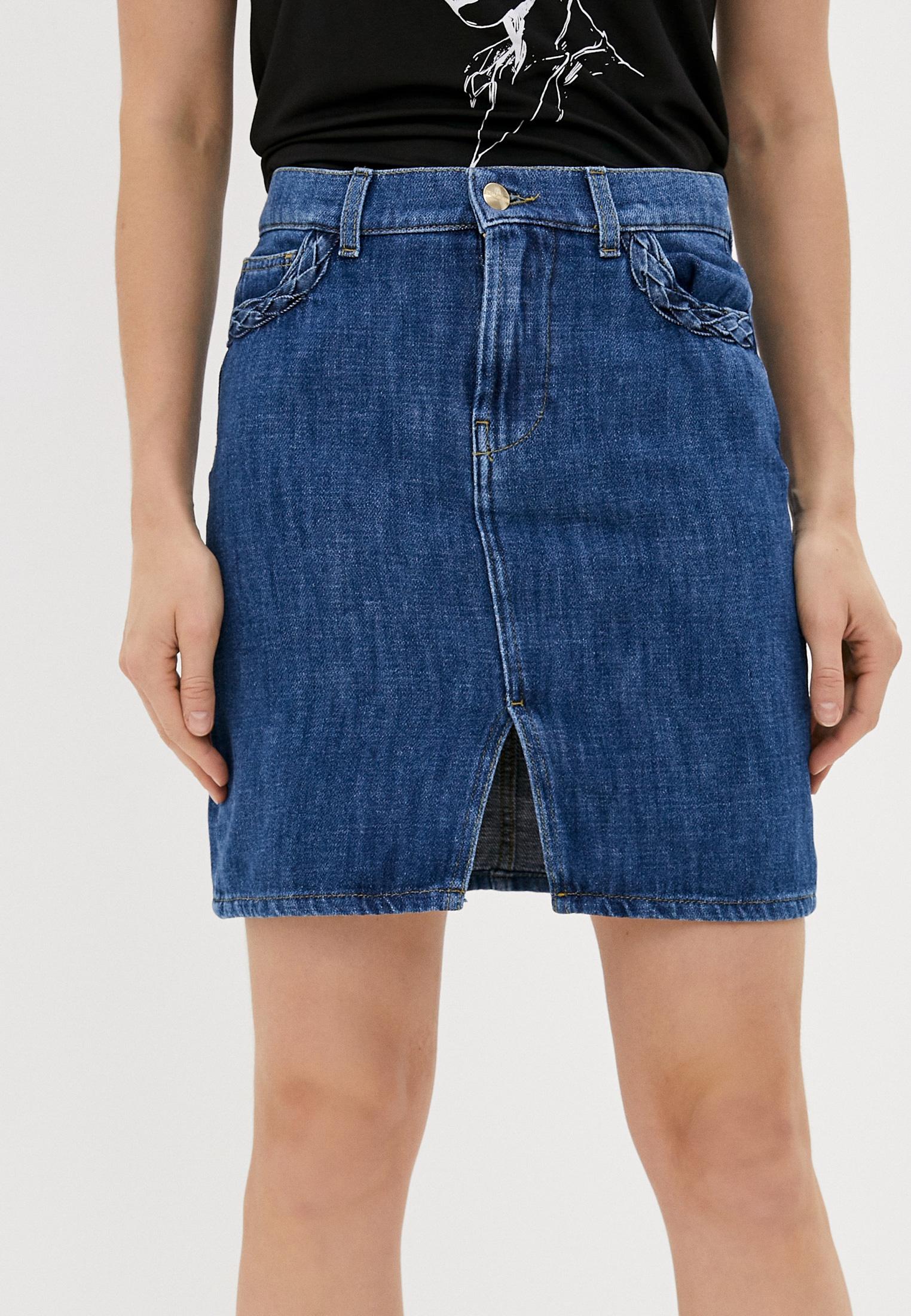 Джинсовая юбка Rinascimento CFC0097337003