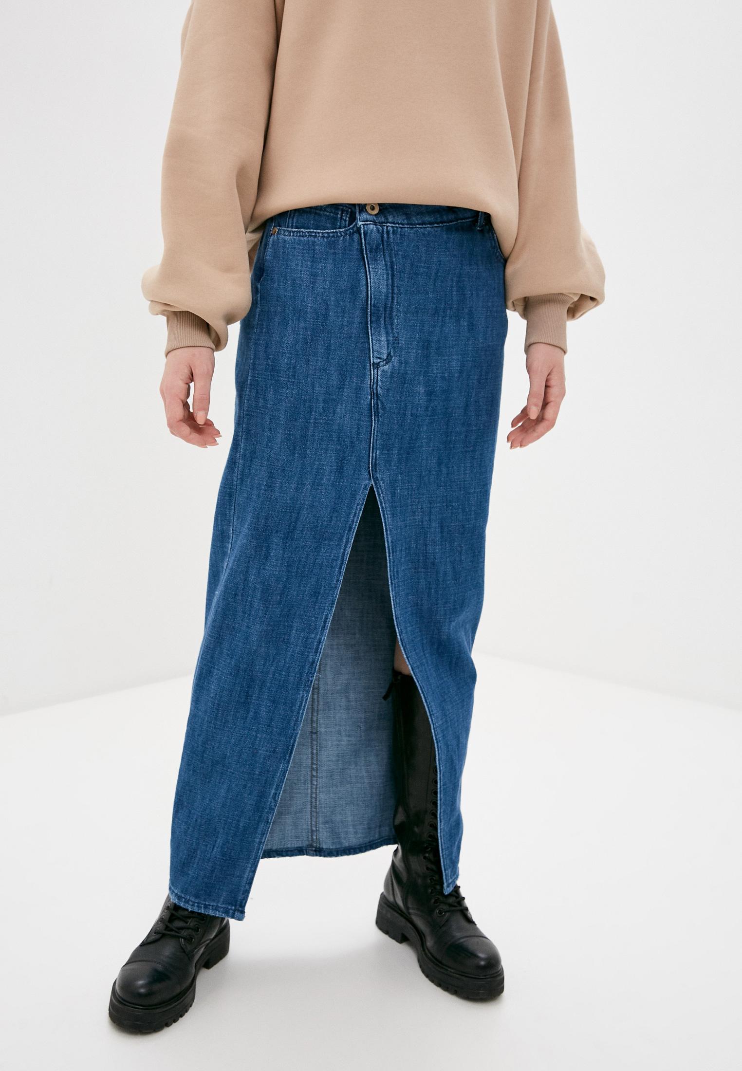 Джинсовая юбка Rinascimento Юбка джинсовая Rinascimento