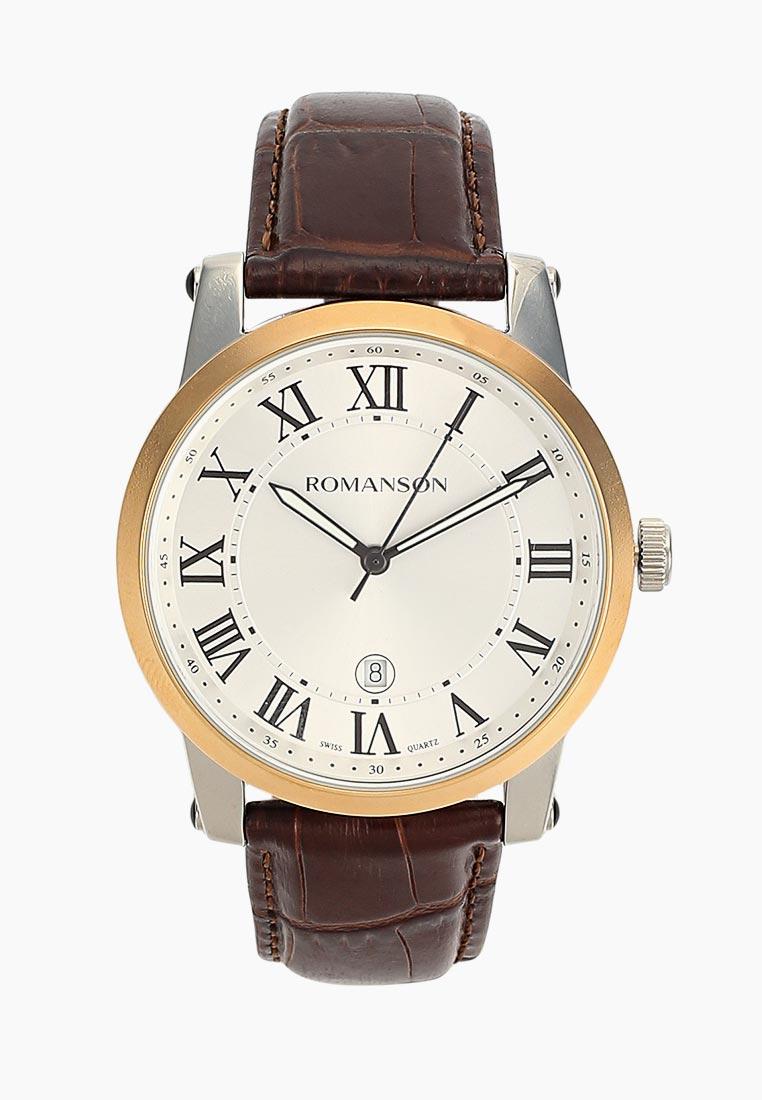 Мужские часы Romanson TL 0334 MJ(WH)RIM