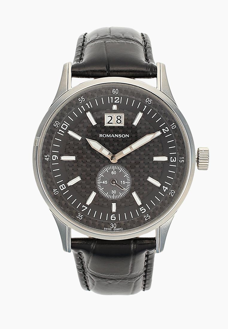 Мужские часы Romanson TL 4131S MW(BK)