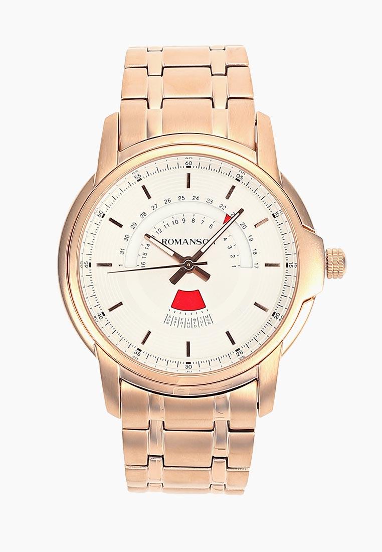 Мужские часы Romanson TM 6A21C MR(WH)