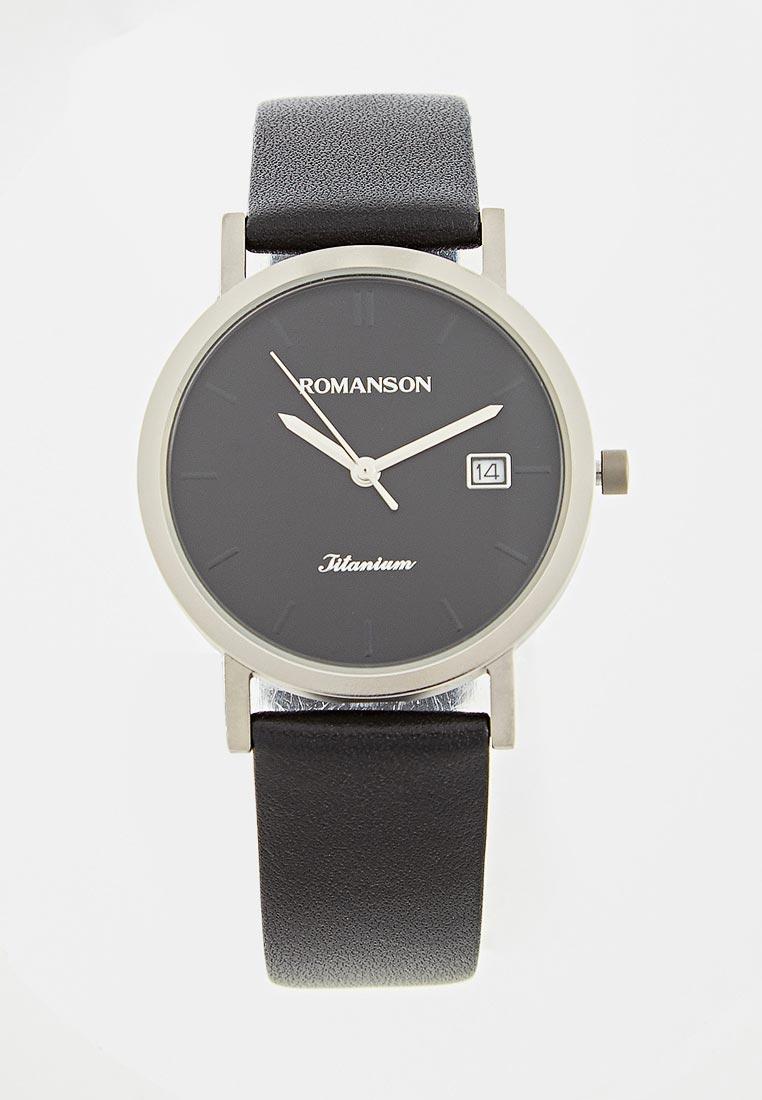 Мужские часы Romanson DL 9782S MW(BK)