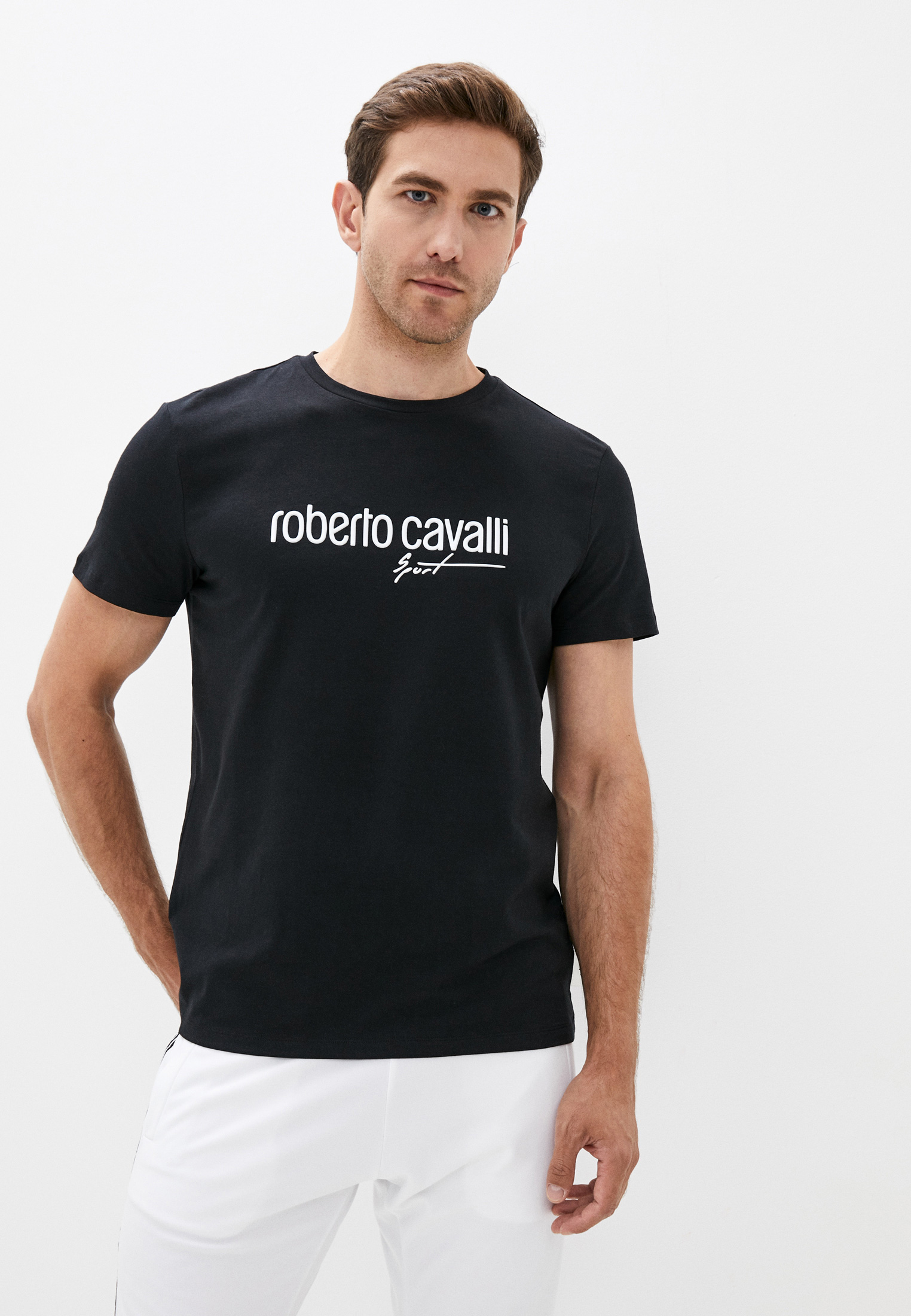 Футболка Roberto Cavalli Sport JYX39T JV025