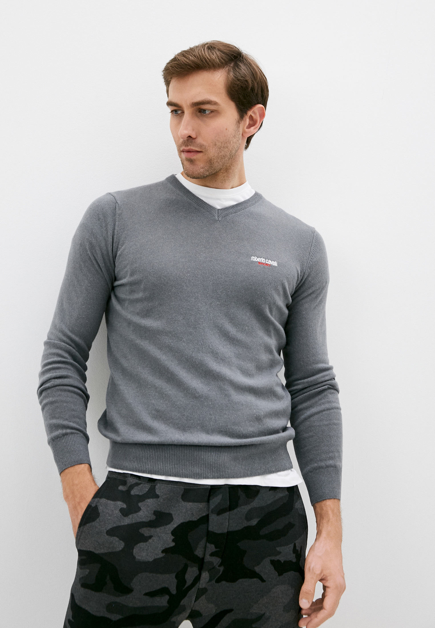 Пуловер Roberto Cavalli Sport FSX601
