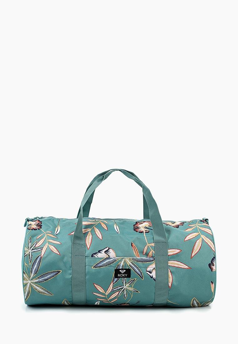 4d8789eaf8a4 Спортивная сумка женская Roxy (Рокси) ERJBL03132 внешний материал ...
