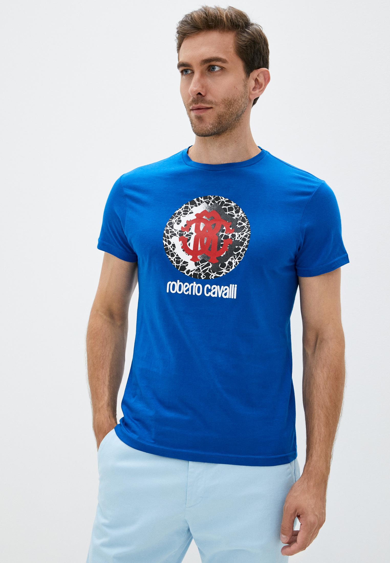 Мужская футболка Roberto Cavalli (Роберто Кавалли) HSH01T