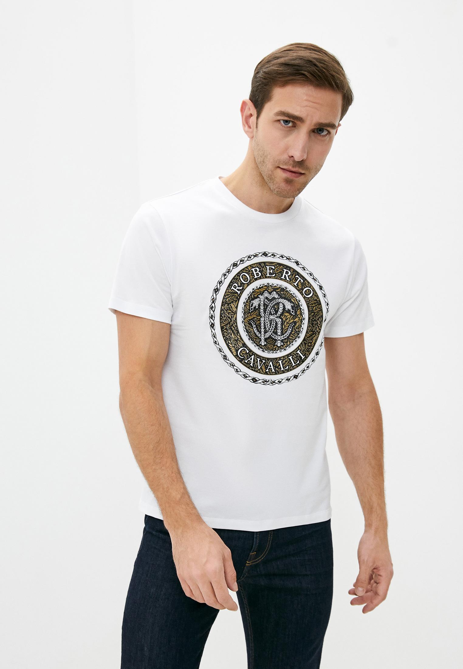 Мужская футболка Roberto Cavalli (Роберто Кавалли) LNT600