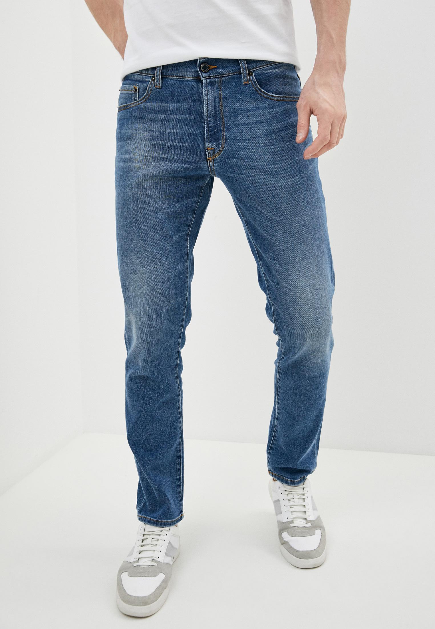 Мужские прямые джинсы Roberto Cavalli (Роберто Кавалли) GSJ201A3740